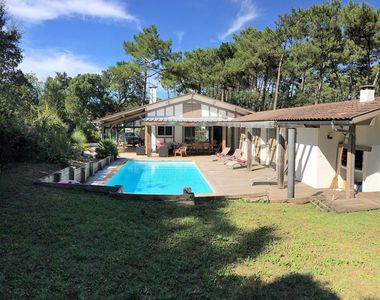 Photo for Seignosse, nice villa with heated pool
