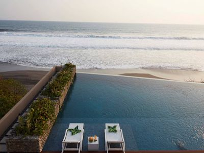 Photo for A brand new ! 50% off- absolute beachfront retreat