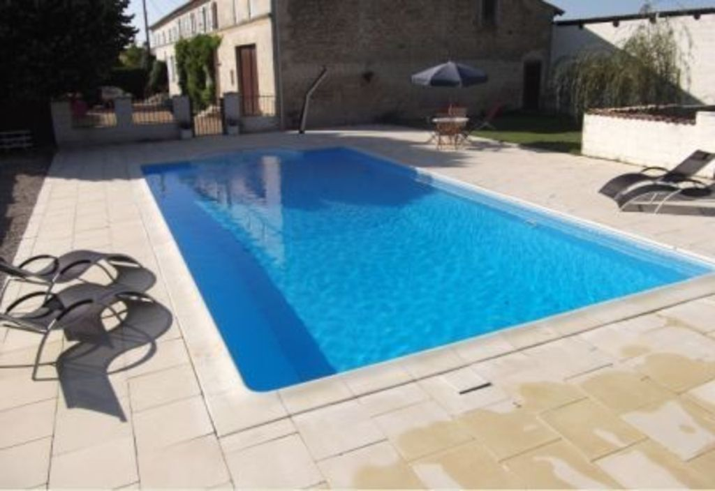Attractive Beautiful Gite In House With Private Heated Pool Near Jonzac, Charente  Maritime
