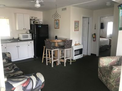 Photo for Affordable two bedroom condo, steps to the Boardwalk and Beach