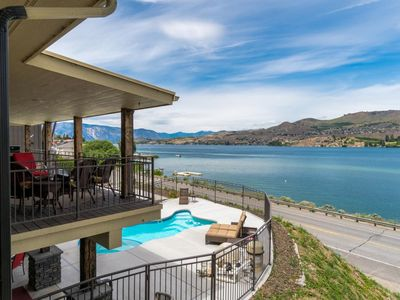 Photo for Sprawling home for large groups w/ lake views, private pool & hot tub, and more!