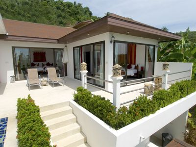 Photo for Mangosteen Sea View 2 Br private pool
