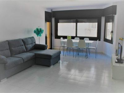 "Photo for Apartment a short walk away (204 m) from the ""Platja La Punta"" in Roses with Terrace, Washing machine (1004459)"