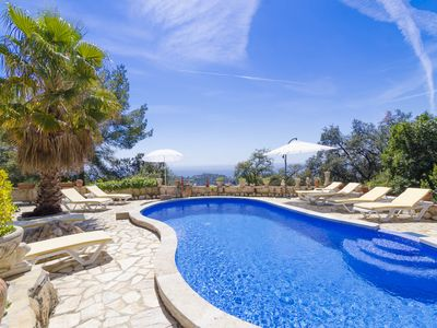 Photo for Club Villamar - Detached villa with wonderful private swimming pool and magnificent view of the s...