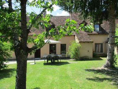Photo for The Cistude, ranked 3 *, in a farmhouse housing 2 cottages in the heart of Brenne