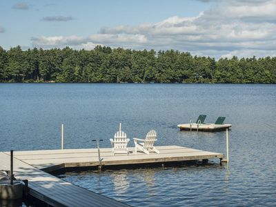 Photo for Luxury Family Home / Retreat Center on Great Pond