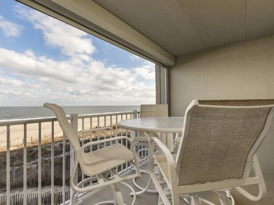 Photo for Oceanfront in North Ocean City - Wake Up to the Sunrise!