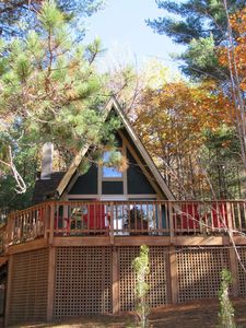 Photo for Romance, Nature, Adventure - Whiteface Views from the Hot Tub, Fireplace!
