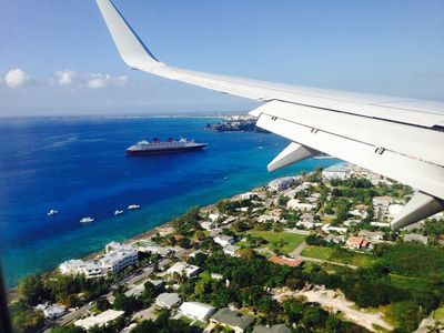 The Jewel of the Caribbean. (i-phone image landing from Miami)