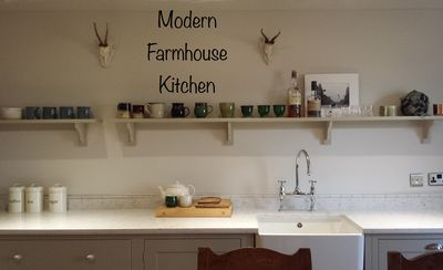 Modern Farmhouse kitchen. Made for family and friends.