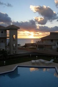Photo for Oceanfront Luxury! Wifi, Cable;  Intimate complex great for social distancing!