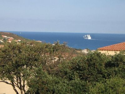 Photo for Luxury apartment in residence in Propriano. Sea and mountains view
