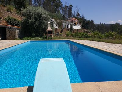 Photo for Authentic house situated on the river in a beautiful countryside, pool, privacy