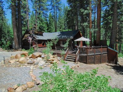 Photo for Quiet Forested Tahoe Cabin with Modern Updates