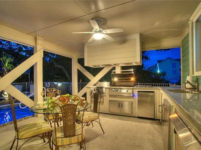 Photo for Ballyhoo - Pool - Outdoor Kitchen - Hot Tub - Easy Beach Access