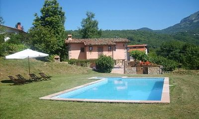 Photo for Villa in beautiful Garfagnana, Tuscany; private pool; stunning views.
