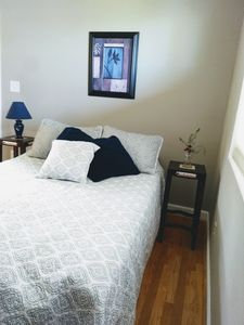 Photo for Quiet, Clean and Comfortable bed and bath.