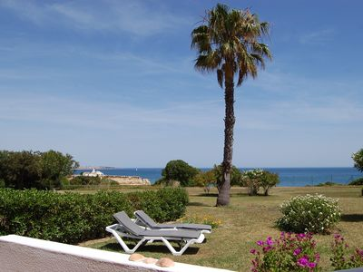 Photo for Facing the sea, 1rst row villa, exceptional seaview, pools, fine sand beach