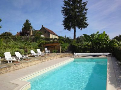 Photo for At the heart of the Dordogne, former farm with panoramic views
