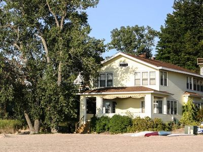 Photo for Best Front Porch In Macatawa Park - Private Lake Michigan Beach (SUPs & Kayak)