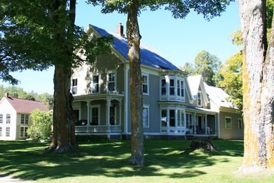 Front View of The Farmhouse - The Second Story is All Yours