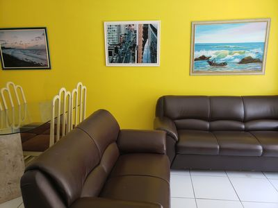 Photo for In Calhau: internet wifi, 2 wcs, 2 suites with air to 400m of the Dutch av