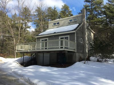 Welcome to Madison, NH! This home is a 1 minute drive from Silver Lake.