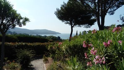 Photo for T2 Duplex sea view Gulf of St Tropez - La Croix Valmer - Pool and beach access