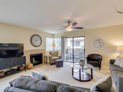 Photo for Poolside Ground Floor Condo in Gated Scottsdale Community!