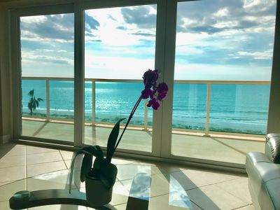 Photo for Clearwater Beach Front Condo December to April