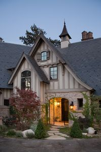 Photo for Lakefront European Tudor Holiday Retreat