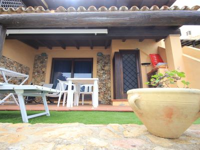 Photo for Villasimius seaside studio with terrace and WIFI