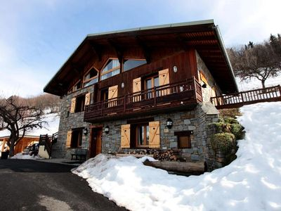 Photo for Chalet in Montchavin with views of Mont Blanc - Chalet 8 rooms 15 persons