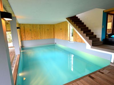 Photo for Beautiful detached  holiday house with swimming pool and sauna in Remonval.
