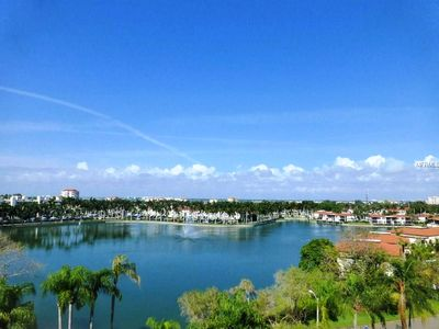 Photo for Comfy, roomy, 6th Fl, waterview, 2BR/2BA@Isla's Bahia Pt.-sun sets over The Don!
