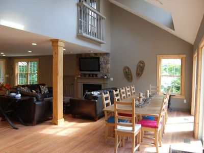 Photo for Luxury High-end Winnipesaukee Lakefront Sleeps 14  - ideal for large families