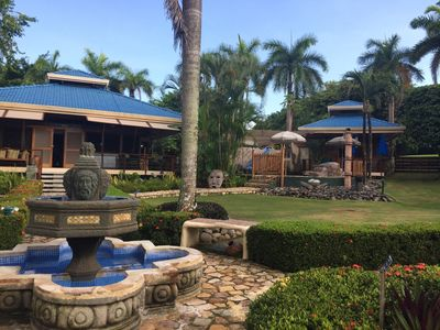 Photo for Pacific Ocean, Beach, Pool, Tambor Resort area Family friendly 15 guests
