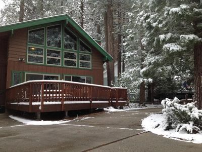 Photo for Pine Needle Hideaway- Walk to Snow Summit! Hot Tub! Pool Table & Ping Pong! WIFI