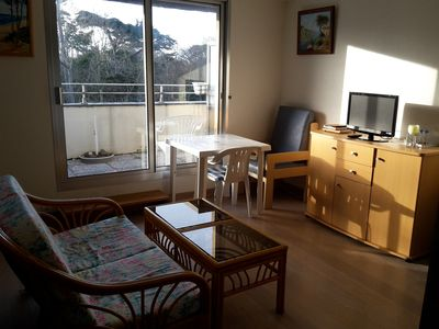 Photo for Waterfront appt T2 2 rooms + large terrace Pleneuf Val Andre