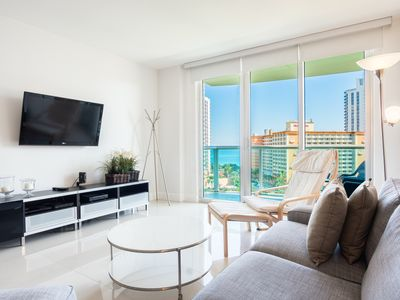 Photo for O. Reserve 1 | 2 Bed + Den 2 Bath, Steps away from the Ocean!