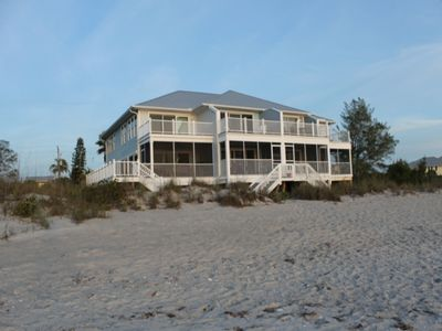 Photo for Gulf Front 2 Bedroom with screened porch and upper sun deck!  Savannah B, #2161, Palm Island