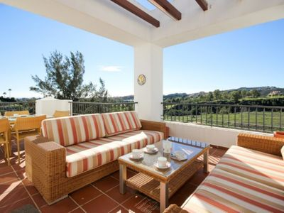 Photo for Holiday rental Penthouse apartment Eucalyptus Los Arqueros Benahavis