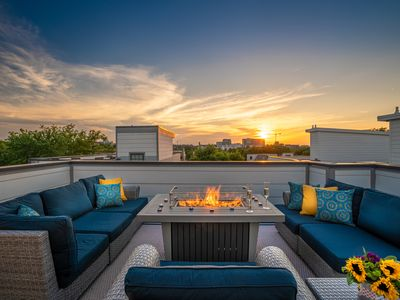 Photo for Stunning View of Nashville's July 4th Fireworks Show via Private Rooftop Deck