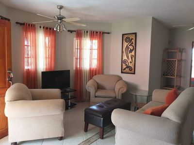 Photo for Charming Villa, Shared Complex - Near Sosua Center