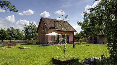 Photo for Spacious house with lake view, garden and rowing boat on the Beetzsee