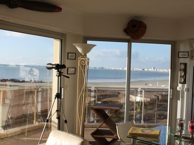 Photo for ecxeptionnelle standing apartment overlooking the bay of La Baule parking