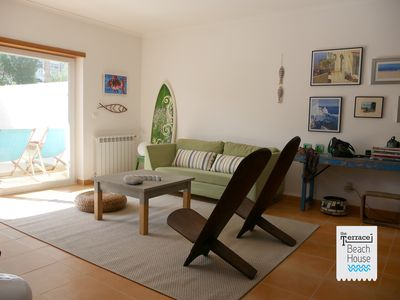 Photo for The Terrace - family house, 1min walk from the beach