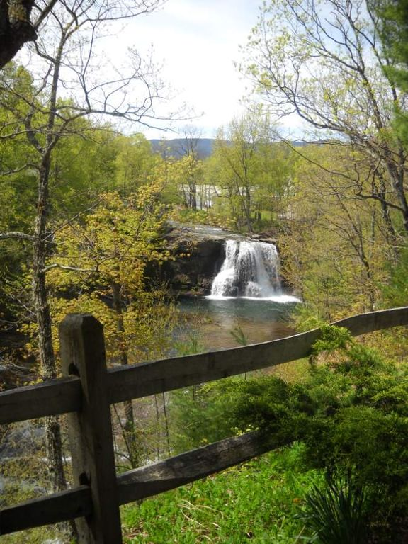 Tumblin Falls House View From Front Porch