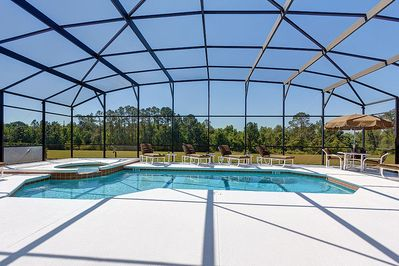 Cool Down in the Private Pool or Relax in the Spa