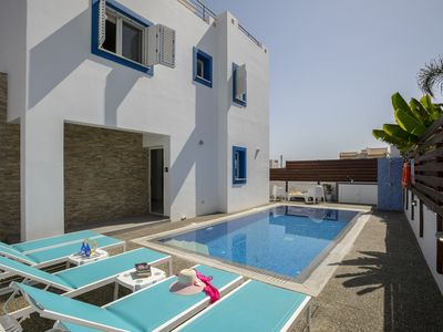 Photo for 3 Bedroom Grecian Style Villa Close to Amenities and Sandy Beaches